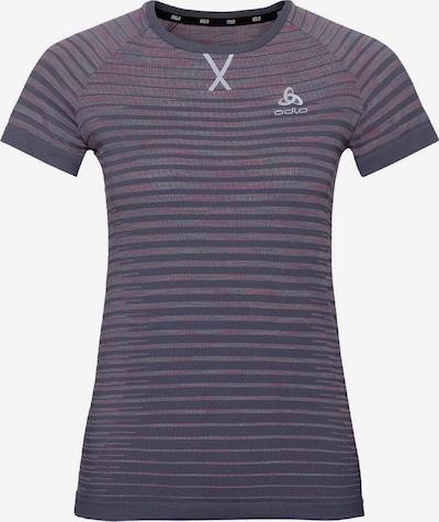 ODLO T-Shirt 'Blackcomb Pro' in dunkellila / mischfarben, Produktansicht
