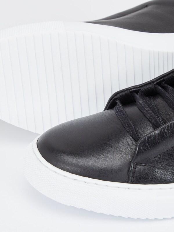 Bianco Leder Sneaker