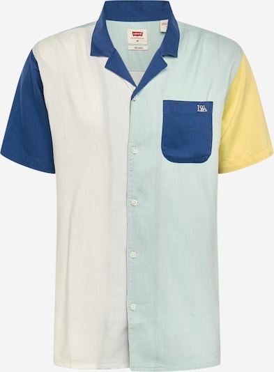 LEVI'S Hemd 'Cubanos' in dunkelblau / pastellgrün / offwhite, Produktansicht