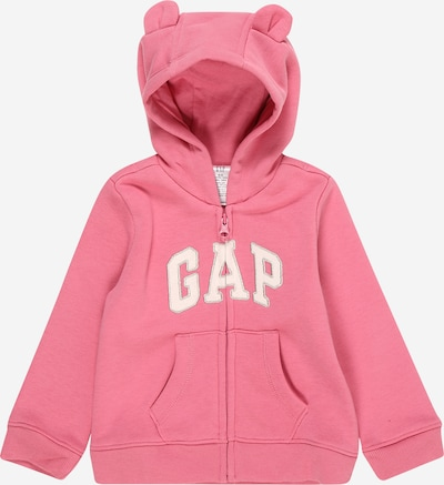 GAP Gornji dio trenirke 'Arch' u roza / bijela, Pregled proizvoda