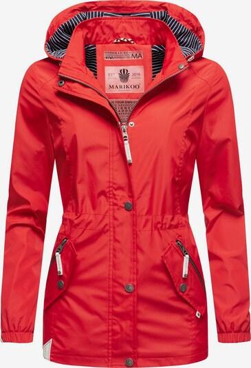 MARIKOO Outdoorjacke ' Dein Kussmäulchen ' in rot, Produktansicht