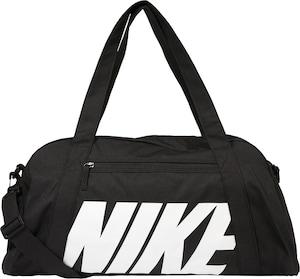 NIKE Sporttasche 'Gym Club' in schwarz / weiß