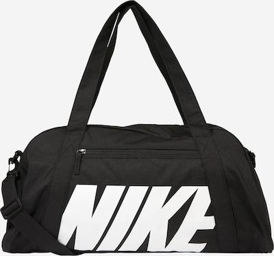 NIKE Športna torba 'Gym Club' | črna / bela barva, Prikaz izdelka