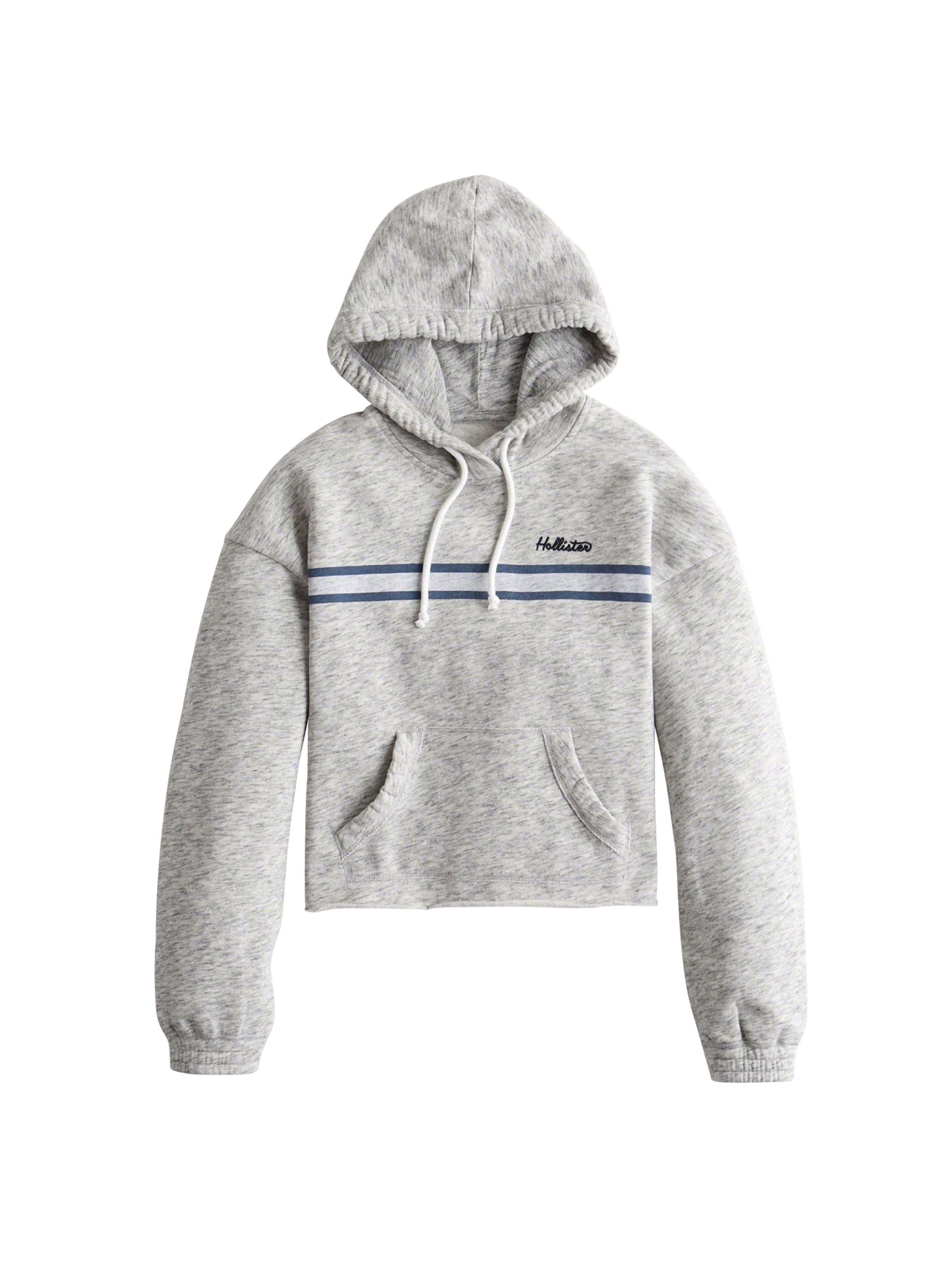 In Logo cali Blues Hollister 'sb19 Tech Grijs Core GemêleerdWit Po' Sweatshirt FKJc1lT