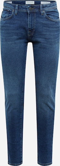 SELECTED HOMME Jeans 'LEON' in blue denim: Frontalansicht