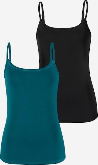 VIVANCE Top in de kleur Petrol / Zwart, Productweergave