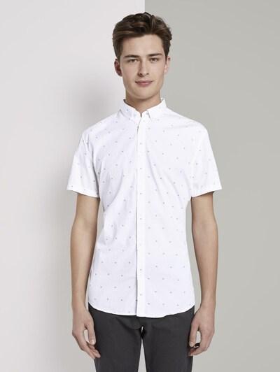 TOM TAILOR DENIM Košile - bílá: Pohled zepředu