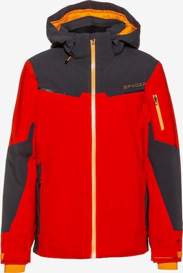SPYDER Skijacke in rot / schwarz, Produktansicht