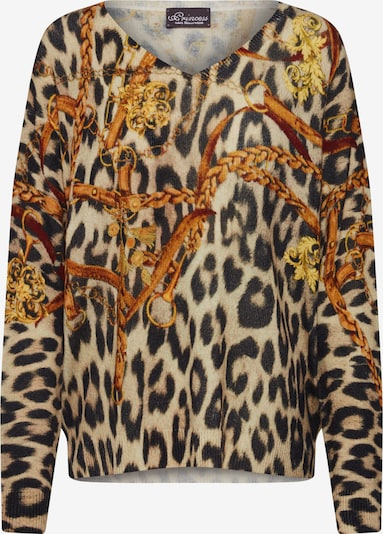 PRINCESS GOES HOLLYWOOD Džemperis pieejami tumši bēšs / oranžs, Preces skats