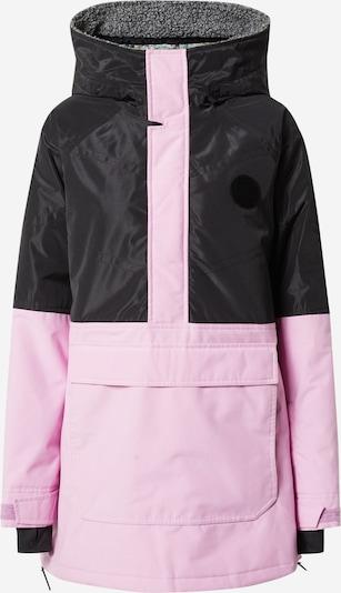 BURTON Outdoorová bunda 'Larosa' - šedý melír / světle růžová / černá, Produkt