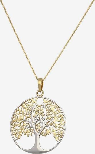 FIRETTI Kette  'Lebensbaum' in gold / silber, Produktansicht