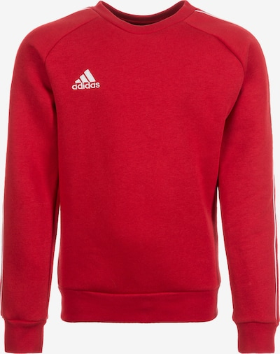 ADIDAS PERFORMANCE Sweatshirt 'Core 18' in rot, Produktansicht