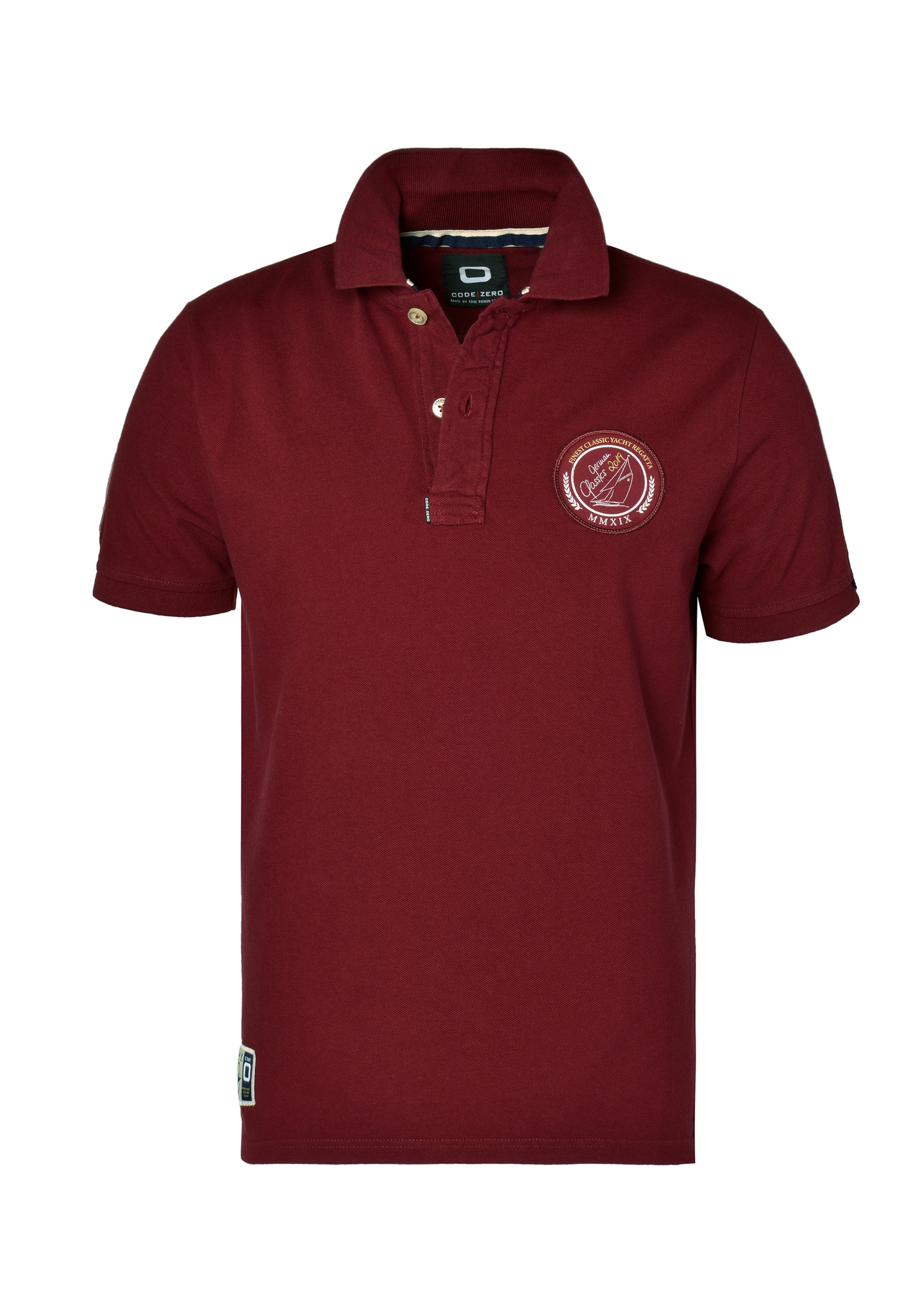 Code Polo zero Classic' Shirt In 'german Burgunder BdCroxe