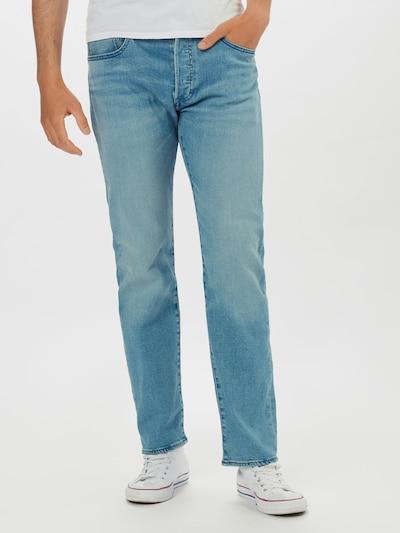 LEVI'S Jeans '501 ORIGINAL FIT' in blue denim, Modelansicht