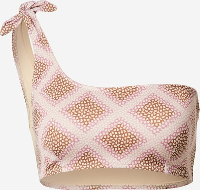 Samsoe Samsoe Bikinitop 'Carlis' in beige / rosa, Produktansicht