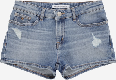 Calvin Klein Jeans Shorts 'Straight Mr Short' in blue denim, Produktansicht