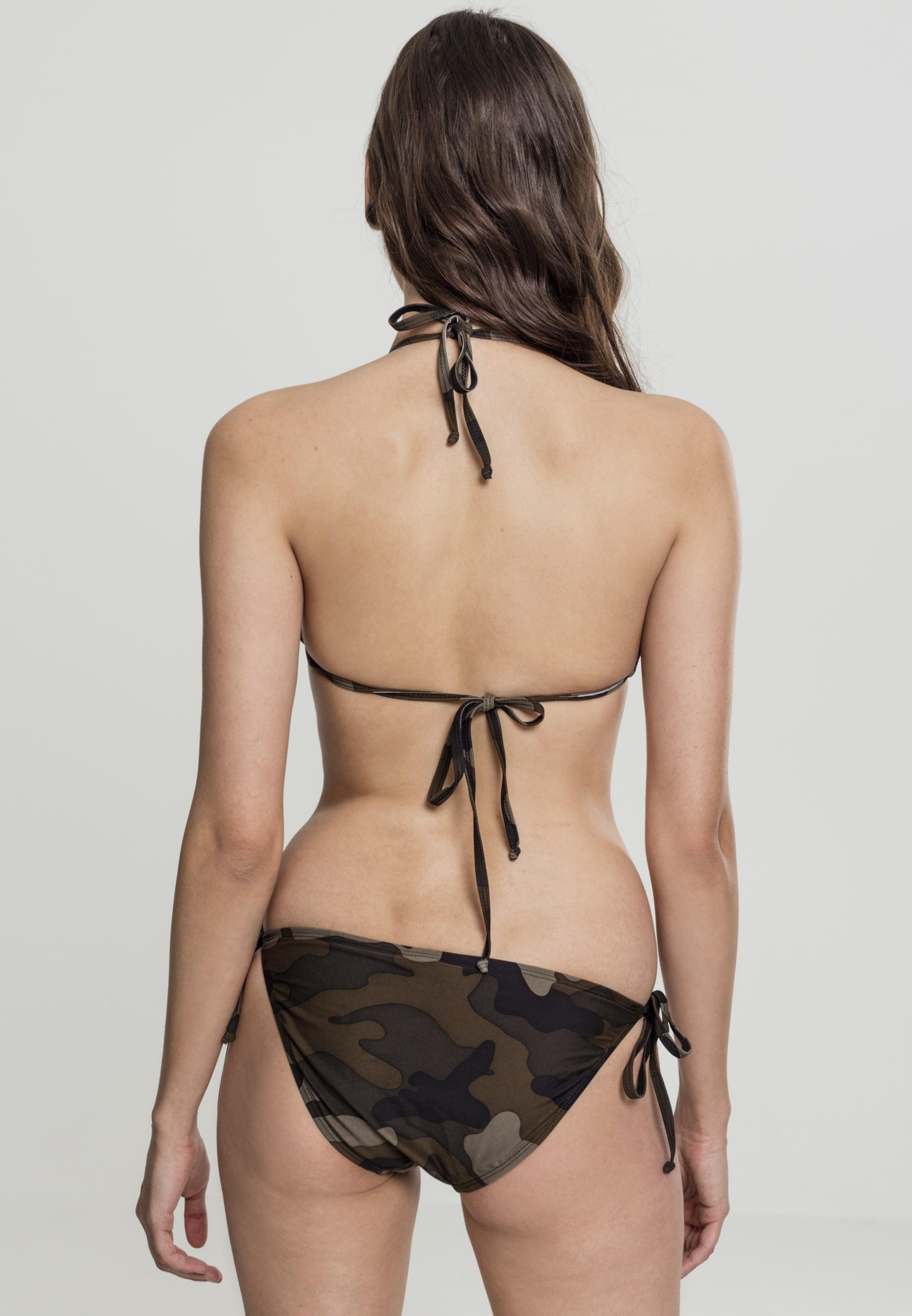Dunkelbraun Classics Bikini DunkelbeigeBraun 'ladies Urban Schwarz Camo' In A34qRjSc5L