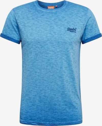 Superdry Shirt 'OL LOW ROLLER TEE' in rauchblau, Produktansicht