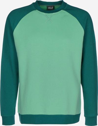 JACK WOLFSKIN Sportsweatshirt ' 365 Crew ' in de kleur Grasgroen / Pastelgroen, Productweergave
