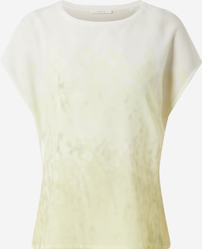 OPUS Shirt  'Susa fleur' in beige / zitrone / weiß, Produktansicht