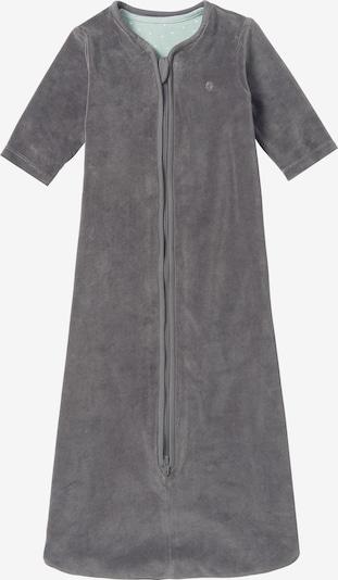Noppies Schlafsack ' Nanno ' in grau / mint: Frontalansicht