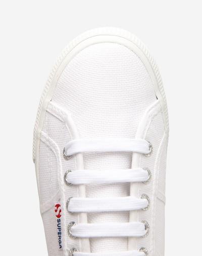 SUPERGA Sneaker in weiß: Draufsicht