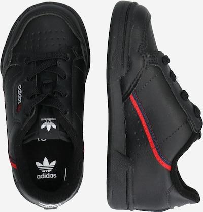 ADIDAS ORIGINALS Sneaker 'Continental 80' in rot / schwarz: Seitenansicht