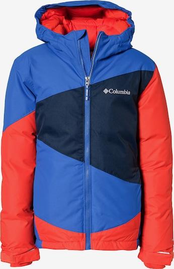 COLUMBIA Winterjacke 'Wildstar' in blau / nachtblau / hellrot, Produktansicht