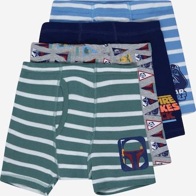 GAP Unterhosen in blau / grün / mischfarben, Produktansicht