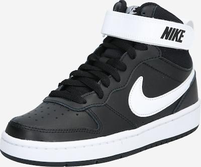 Nike Sportswear Sneakers 'Court Borough Mid 2' in de kleur Zwart / Wit, Productweergave
