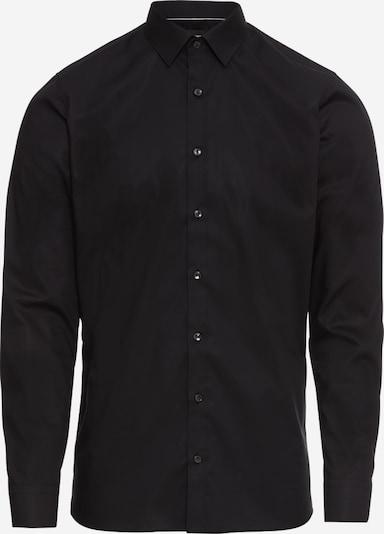 Dalykinio stiliaus marškiniai iš OLYMP , spalva - juoda, Prekių apžvalga