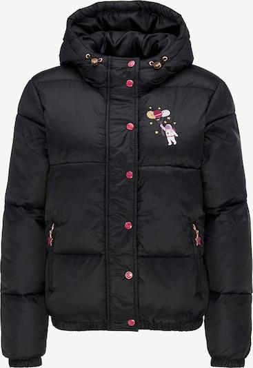 MYMO Winterjacke in mischfarben / schwarz, Produktansicht