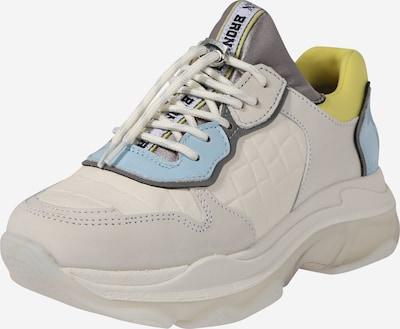 BRONX Sneaker 'Baisley' in hellblau / gelb / offwhite, Produktansicht
