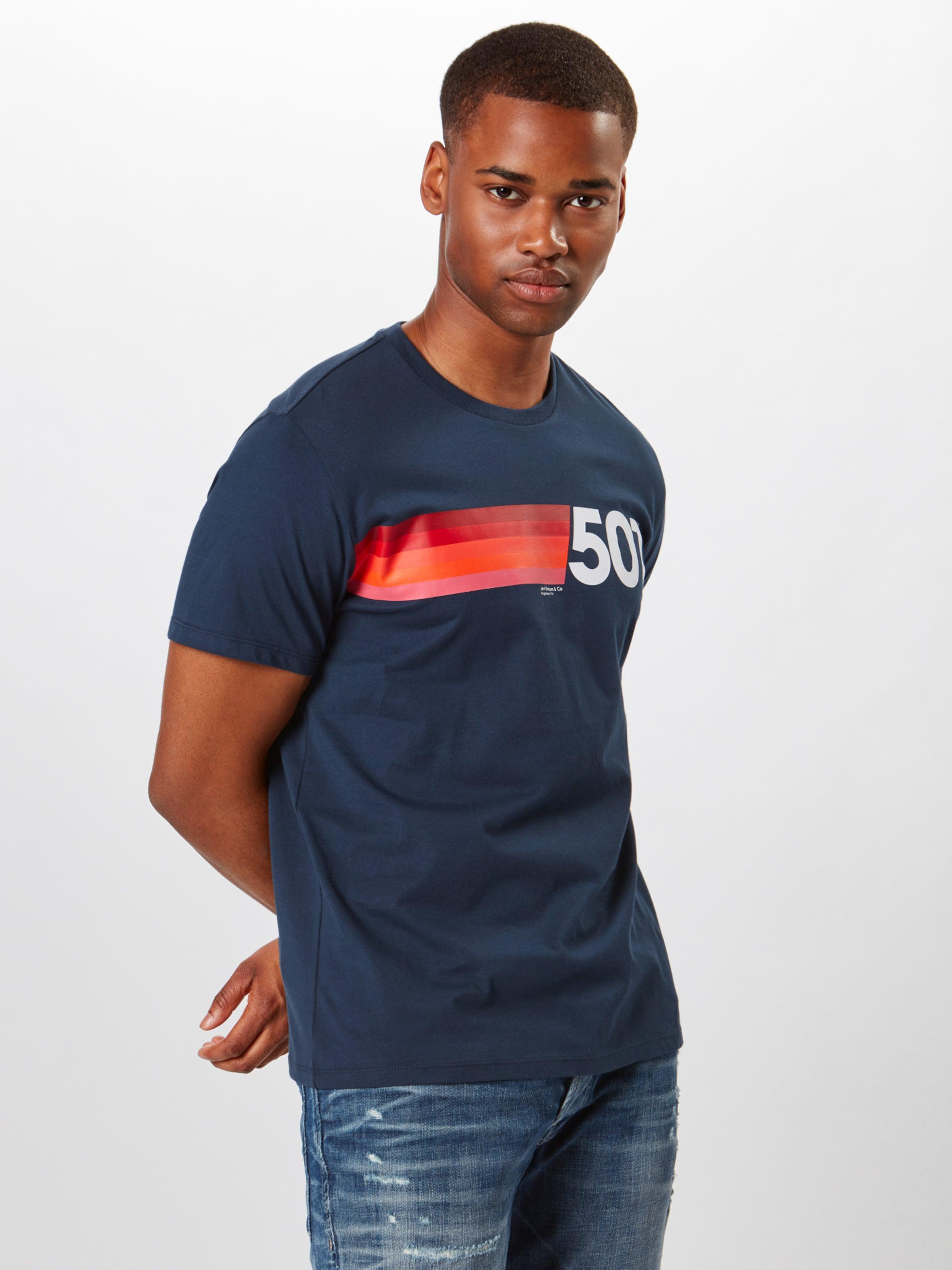 Couleurs shirt De Levi's Sweat En Bleu FoncéMélange DEH29I