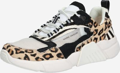 Mark Nason Sneaker 'BLOCK WEST' in braun / schwarz / weiß, Produktansicht