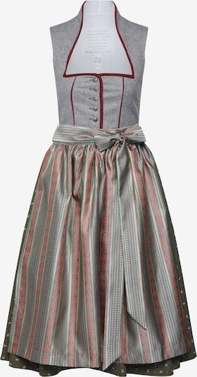 MONDKINI Kleid 'Dirndl Pauline' in grau / grün, Produktansicht