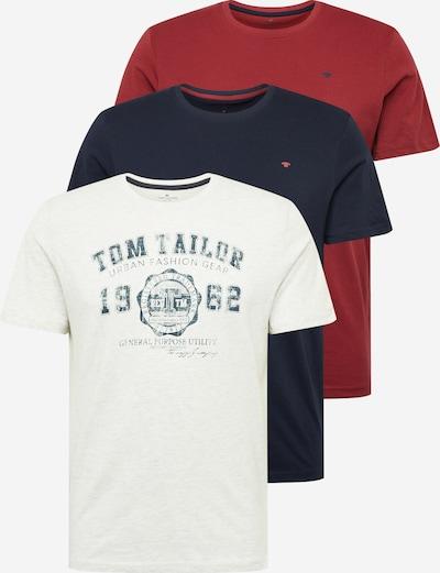 TOM TAILOR Shirts in weiß, Produktansicht