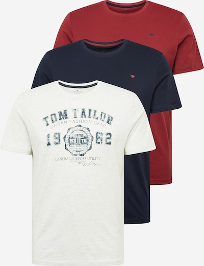 TOM TAILOR T-Krekls balts, Preces skats