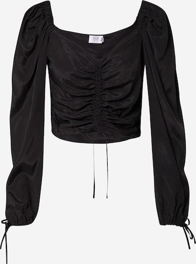 NA-KD Blouse in de kleur Zwart, Productweergave