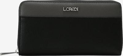 L.CREDI Geldbörse 'Eleonora' in schwarz, Produktansicht