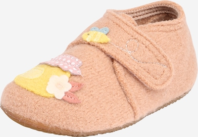 Living Kitzbühel Slipper in nude / smoke blue / gold yellow / dusky pink / white, Item view