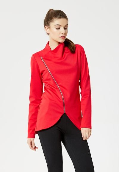 TALENCE Sweatvest in de kleur Rood: Vooraanzicht