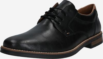 RIEKER Zapatos con cordón en negro, Vista del producto