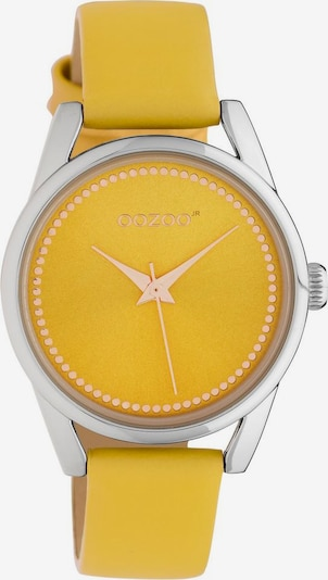 OOZOO Uhr 'JR306' in senf / silber, Produktansicht