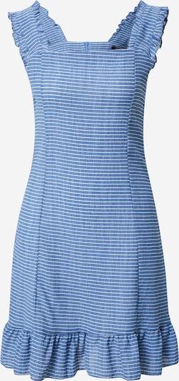 Trendyol Kleid in blau / weiß: Frontalansicht