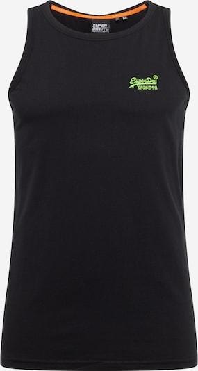 Superdry T-Shirt en noir, Vue avec produit