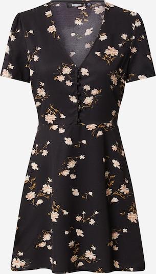 Missguided Robe en mélange de couleurs / noir, Vue avec produit