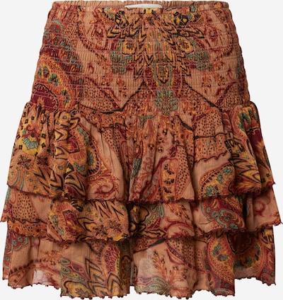 Mes Demoiselles Suknja 'Lopez' u žuta / miks boja / narančasta / pastelno narančasta / rubin crvena, Pregled proizvoda