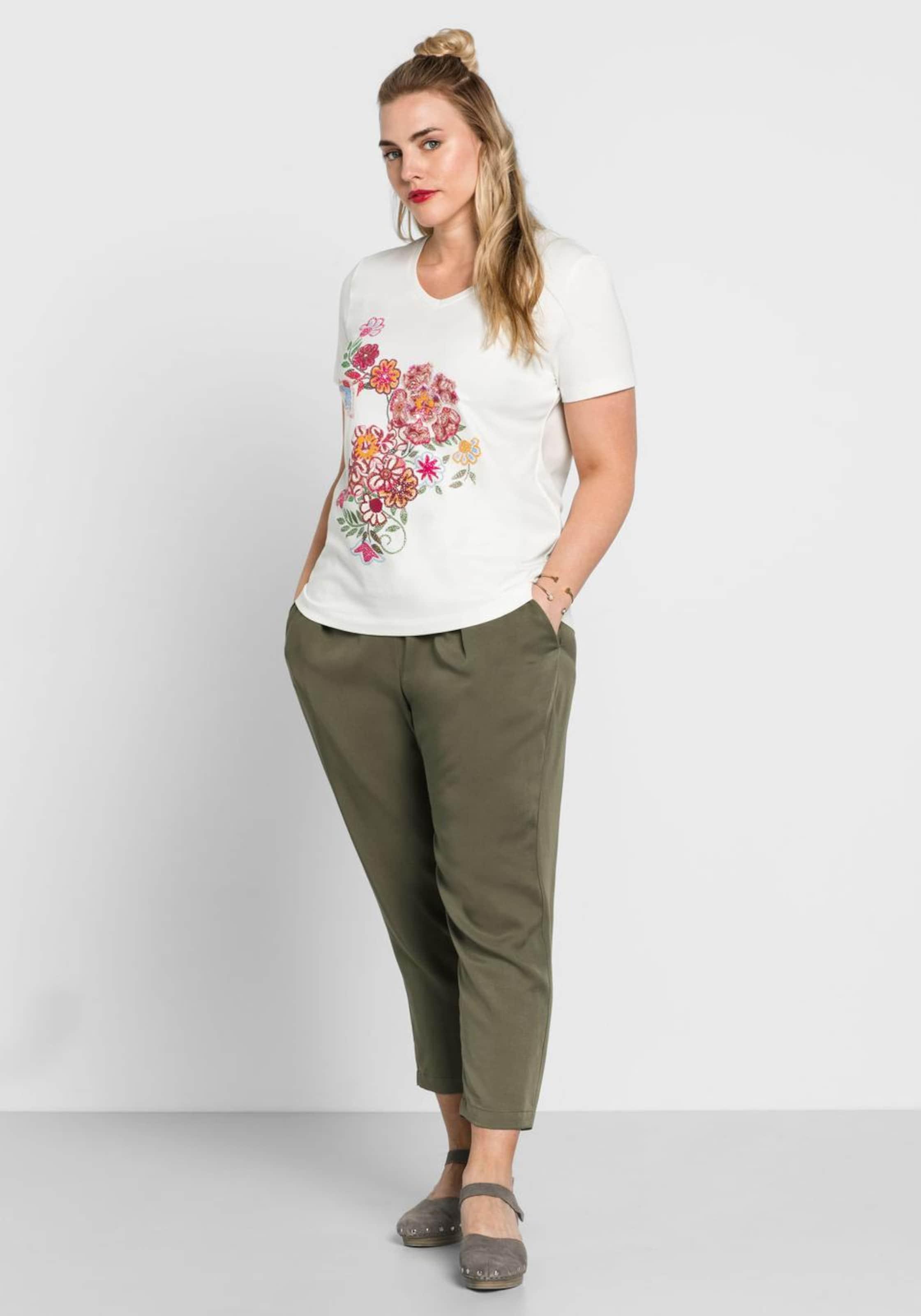 T shirt Sheego MischfarbenOffwhite In 0Pk8wOXn