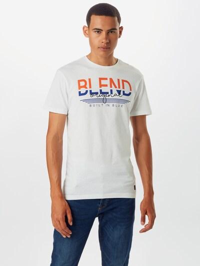 BLEND T-Shirt en blanc: Vue de face